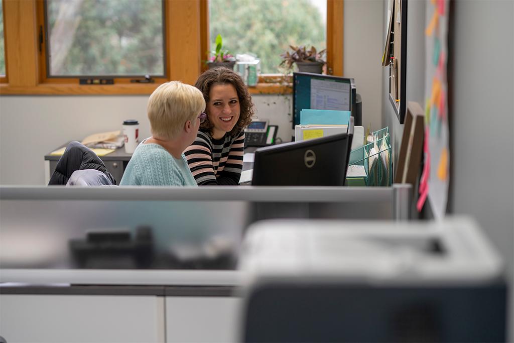 Kari and Jane consulting